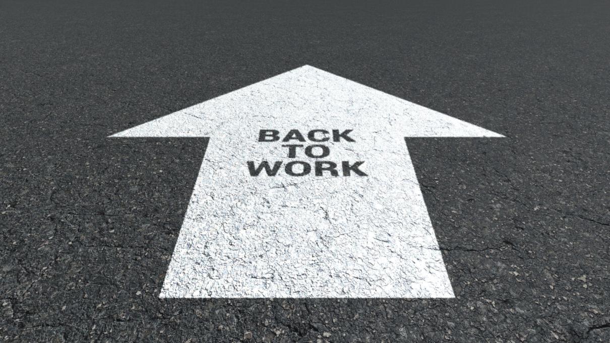Aus der Kurzarbeit zurück in die Vollbeschäftigung