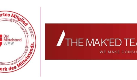 """THE MAK'ED TEAM receives certification as """"BVMW-approved consultant for medium-sized companies"""""""