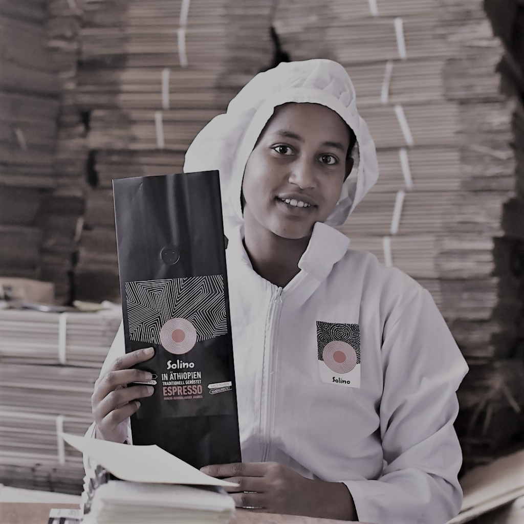 Abfüllung Solino Coffee Äthiopien
